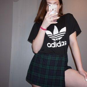 Forever 21 Skirts - Plaid mini wrap skort